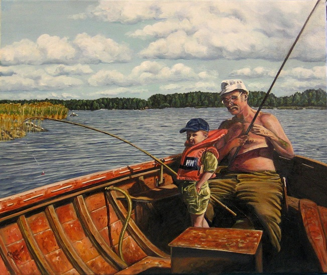 Nice Trout, Grandpa - Picture eBaums World